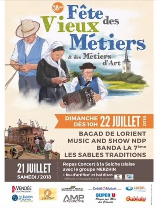 Fête des Vieux Métiers @ Olonne sur mer   Les Sables-d'Olonne   Pays de la Loire   France