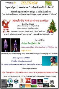 Téléthon et Marché de Noël @ Les Sables d'Olonne