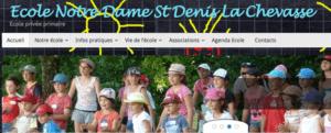 20151208-Ecole Notre Dame St Denis La Chevasse